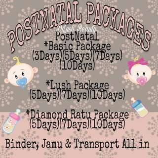 Postnatal Massage PACKAGES