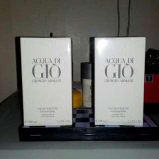 Brand NEW!! AQUA DE GIO Perfume Fot Men (from US)