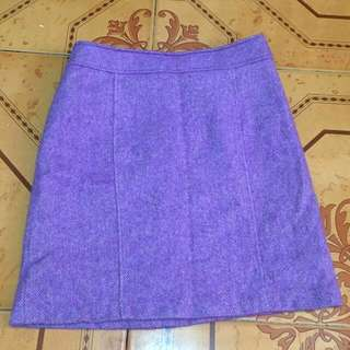 Lavender Mini / Office Skirt