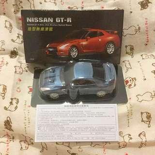 🚚 7-11 限量版 NISSAN GT-R 造型無線滑鼠