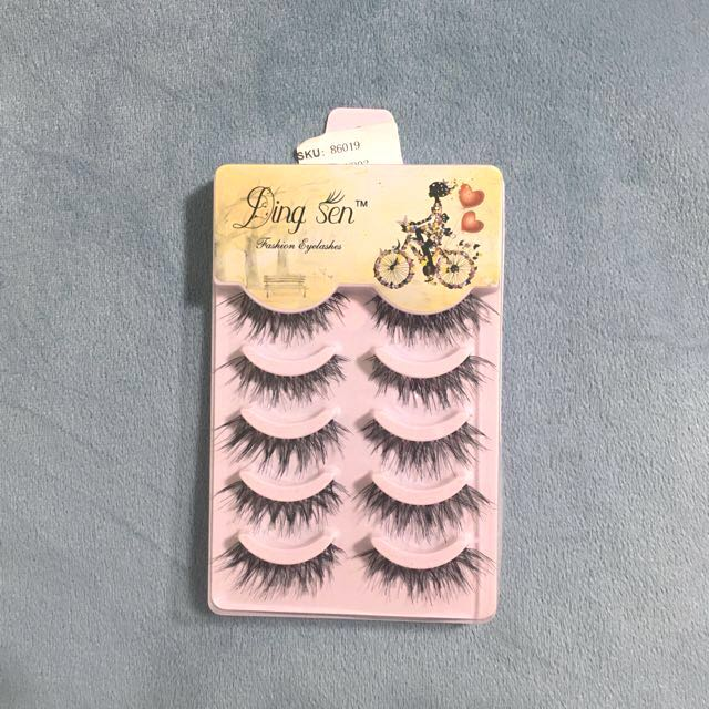 5 Pack False Eyelashes