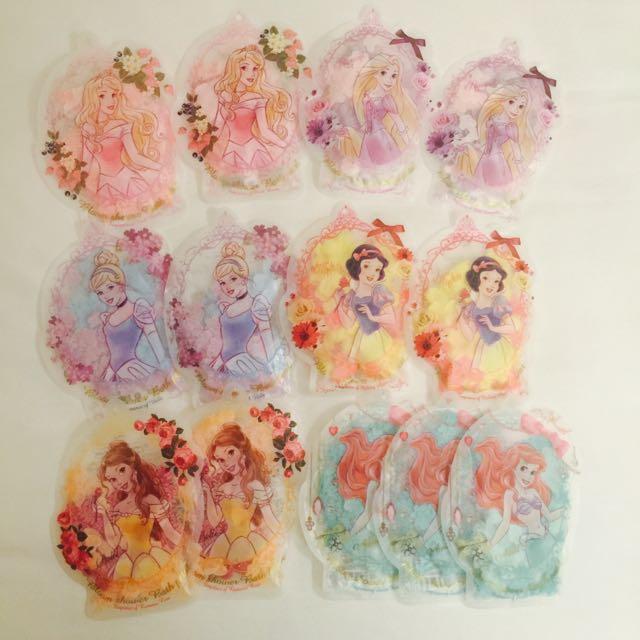 迪士尼公主 花瓣 愛心 香氛泡澡包
