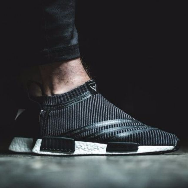 b27092b67 adidas x White Mountaineering NMD CS1 Primeknit Black (S80529 ...