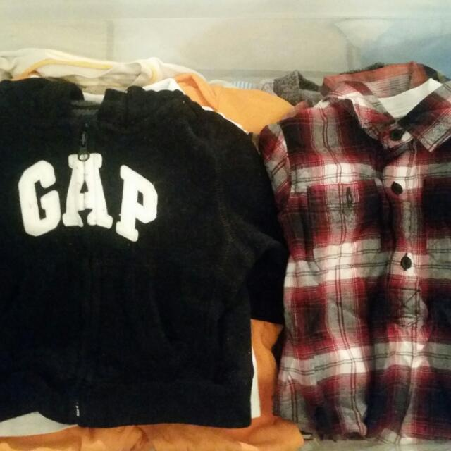 Boy Clothes All Sizes