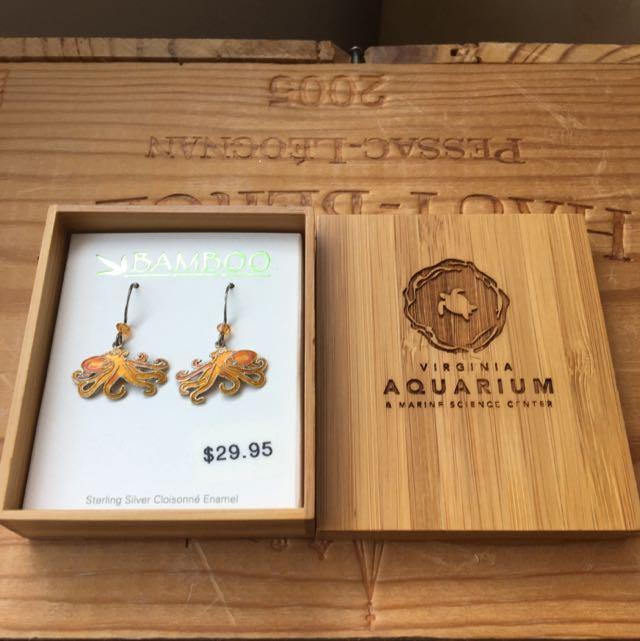 Brand New Octopus Earrings