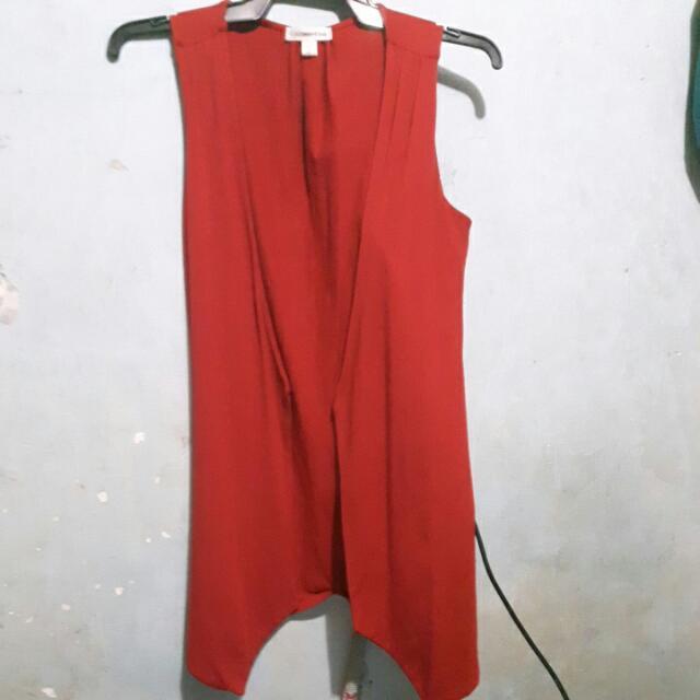Branded Red Topper
