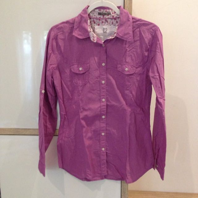 C2 Dusty Purple Blouse