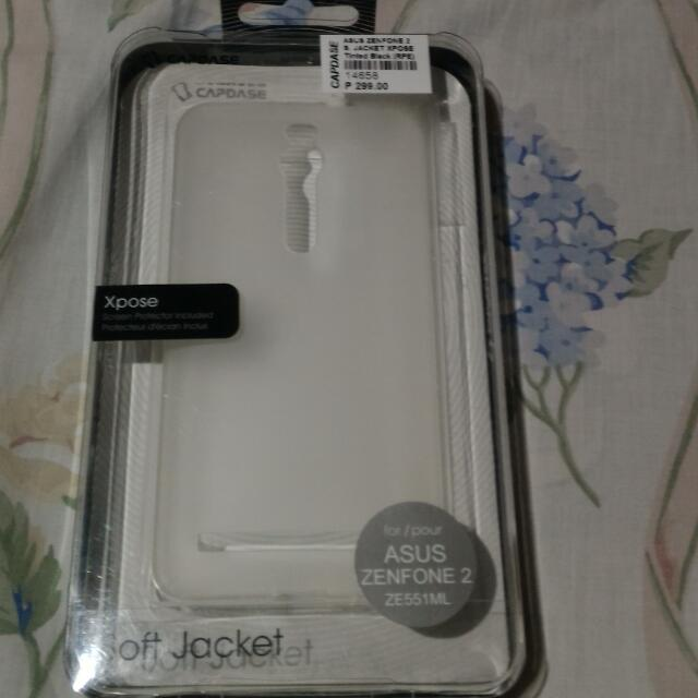 Capdase Original Jelly case Zenfone 2