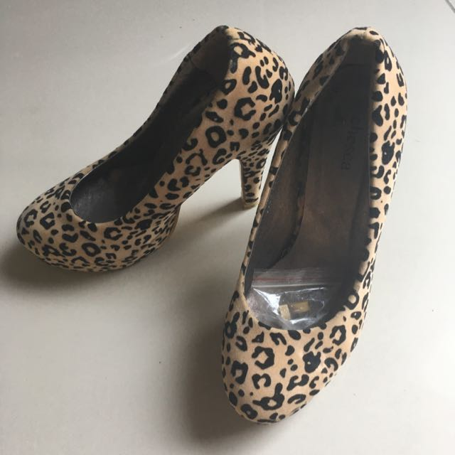 Chesca Leopard Pumps