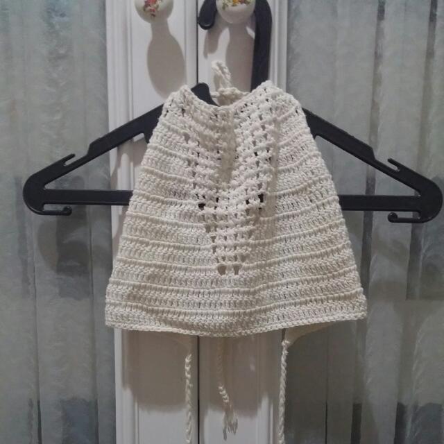 Crochet Top Bikini Rajut