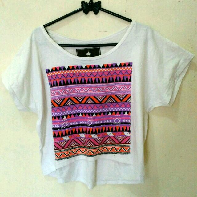 Crop Tee Tribal