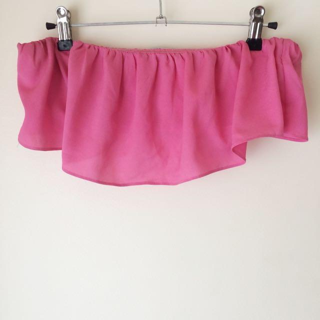 ElevenRainDrops 'Chiffon Skirt Bandeau Crop'