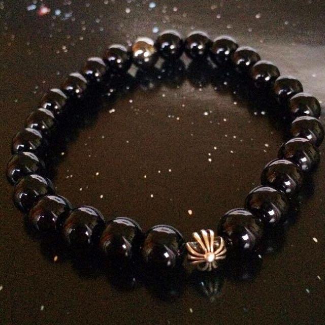 Exclusive! Handmade Black Onyx Bracelet