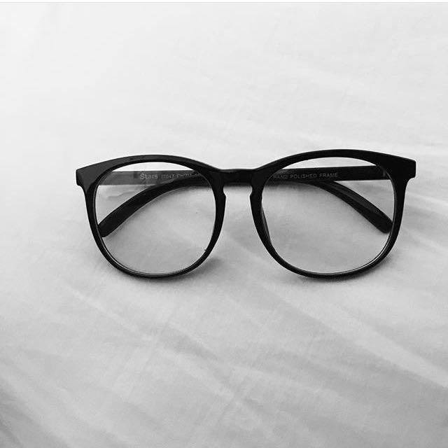 fake frame glasses