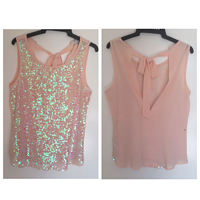 Forever 21 Sequin Top