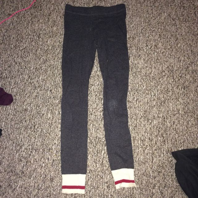 Garage dark grey leggings