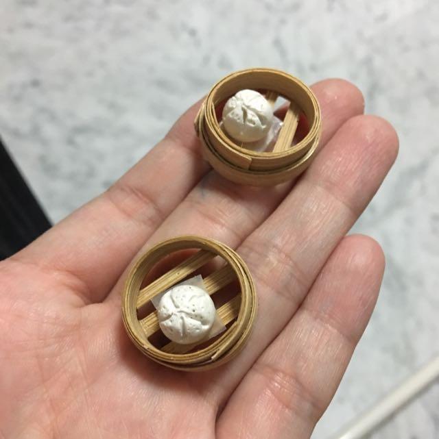 Handmade Miniature Big Pao - Char Siew Pao