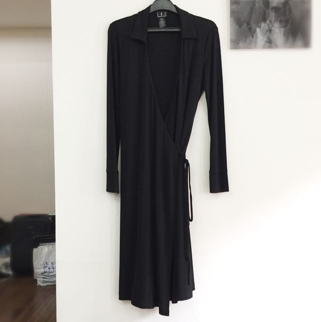 INC Black Dress