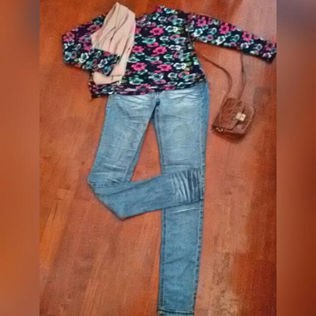in stock new season clearance sale Jegging 💘Skinny Jeans.
