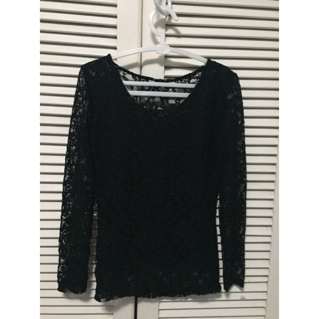 Lace Longsleeves (See Through)