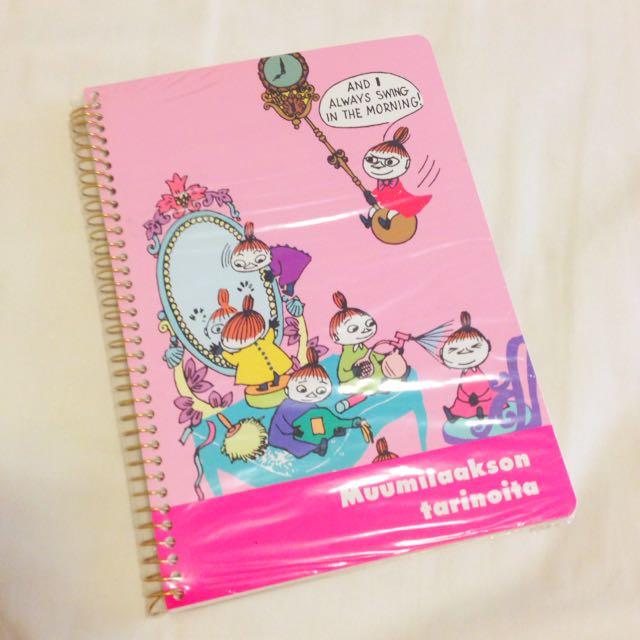 嚕嚕米moomin 小不點蜜兒筆記本