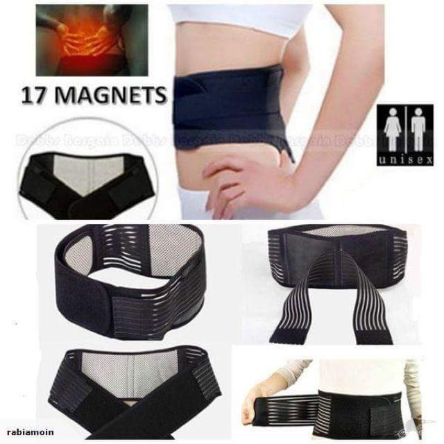 NEW MAGNETIC HEAT WAIST BELT BRACE FOR PAIN RELIEF