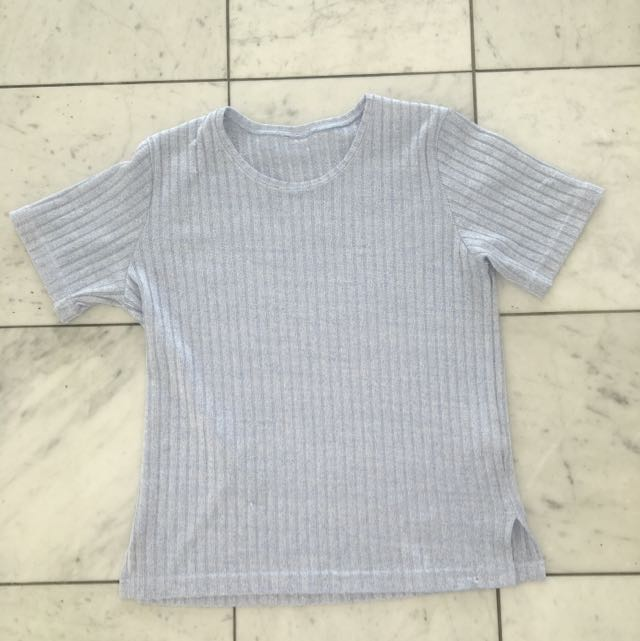Pale Blue Shirt Size 10