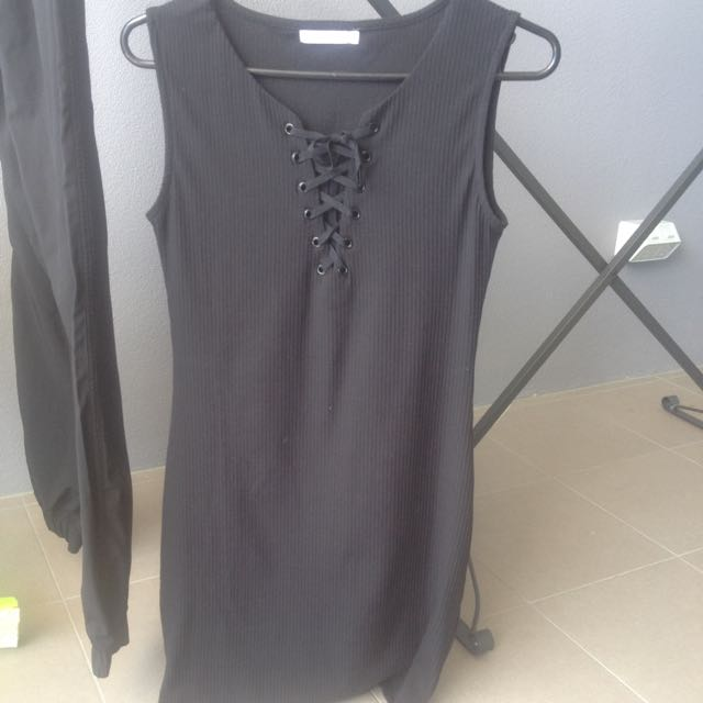 PARE - Basic Stretchy Dress Size m