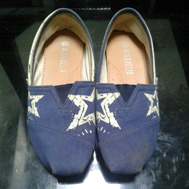 Peter Keiza Espadrille Blue Star