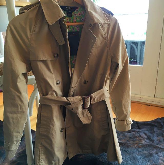 Polo Ralph Lauren Girls Trench Coat