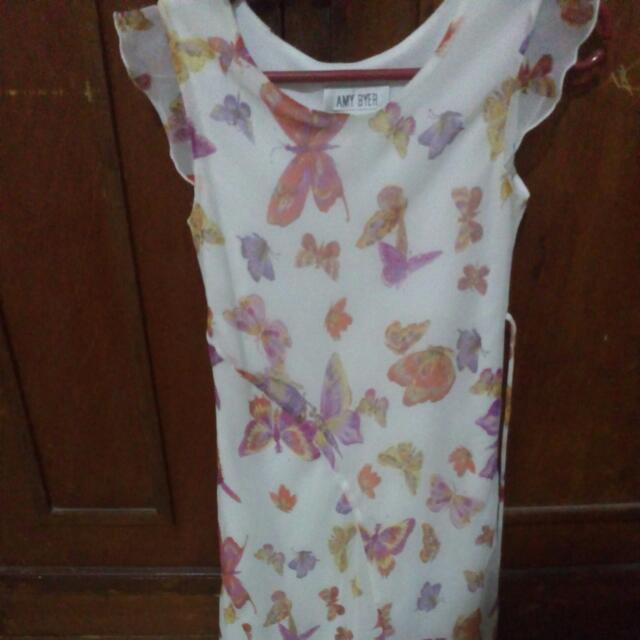 Preloved Chiffon Dress