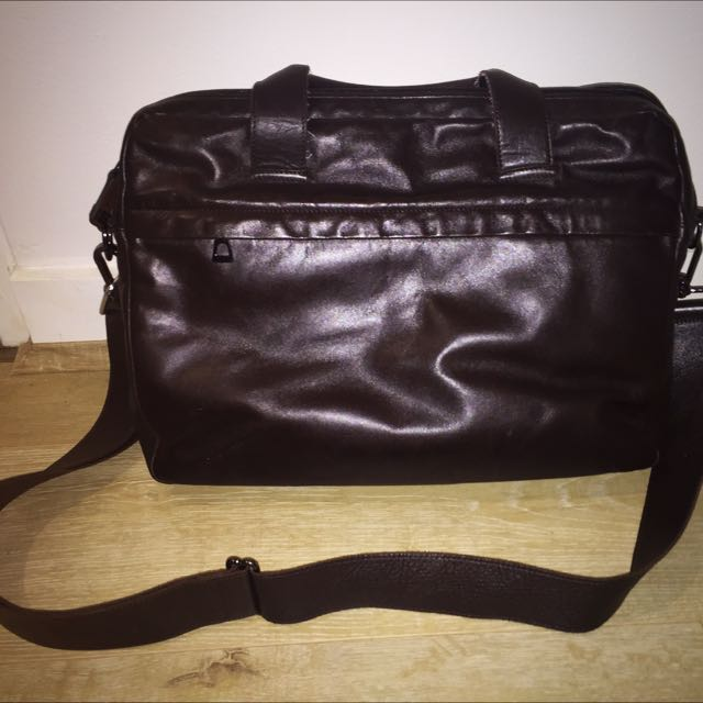 Rudsak Brown Leather Laptop Work Bag