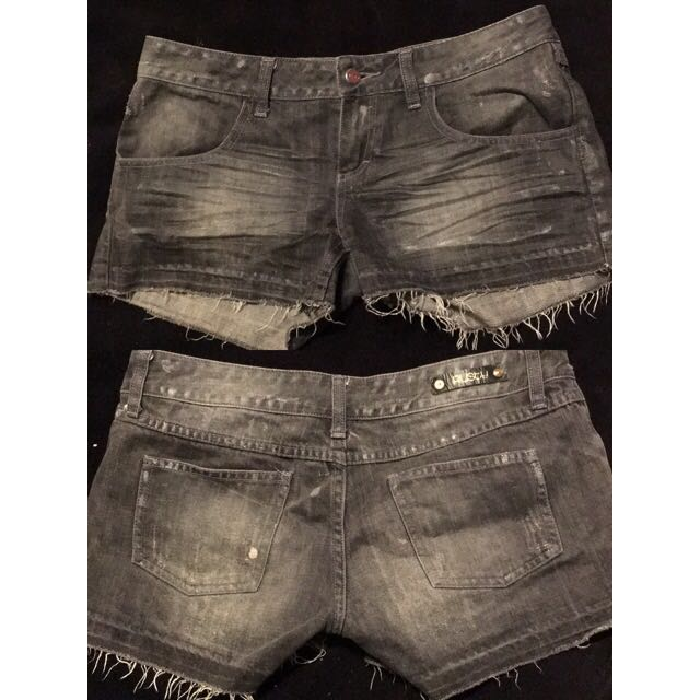 Rusty Denim Shorts