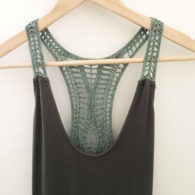 SABA Crochet Tank Top
