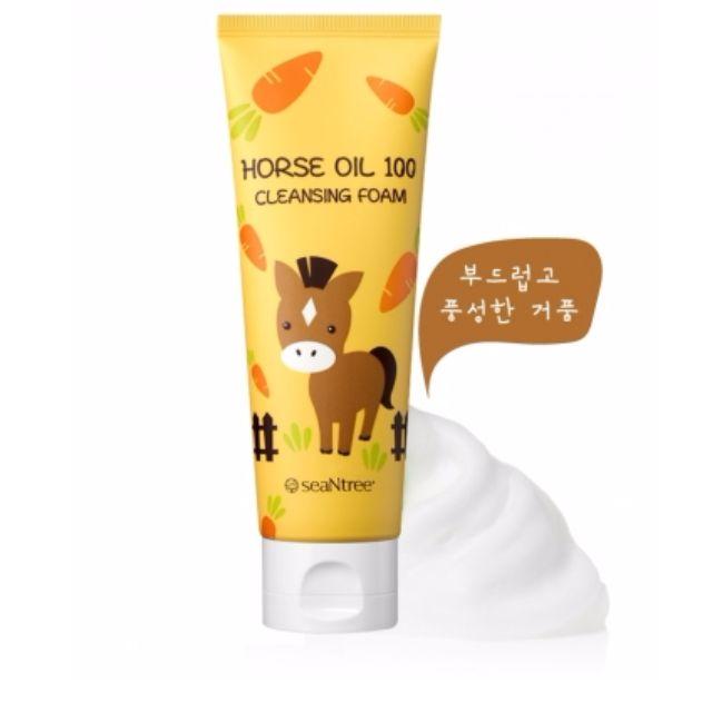 『SEANTREE馬油蜂蜜滋潤保濕洗面乳』現貨