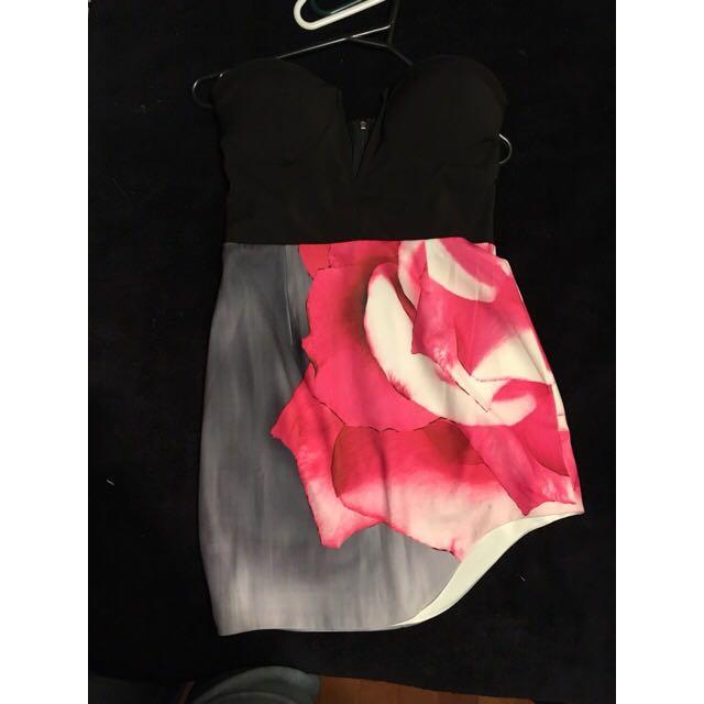 Strapless Dress From Australia