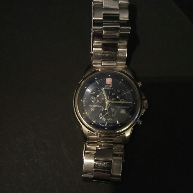 Used Swiss Army Watch