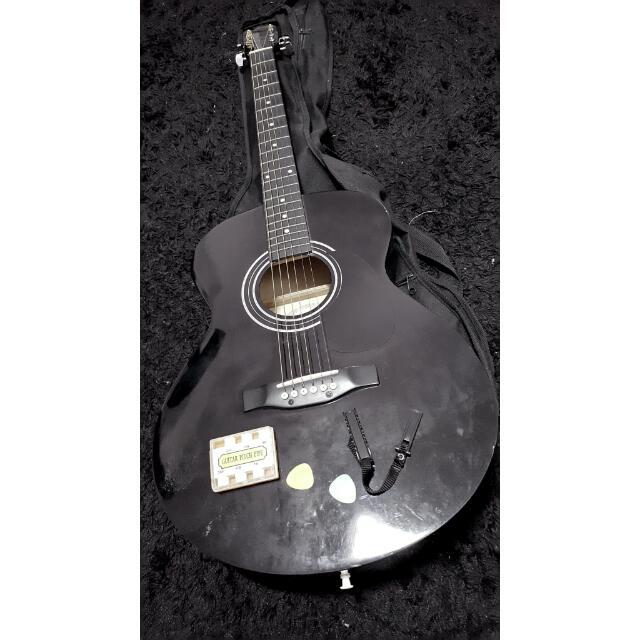 Tribal Acoustic Guitar