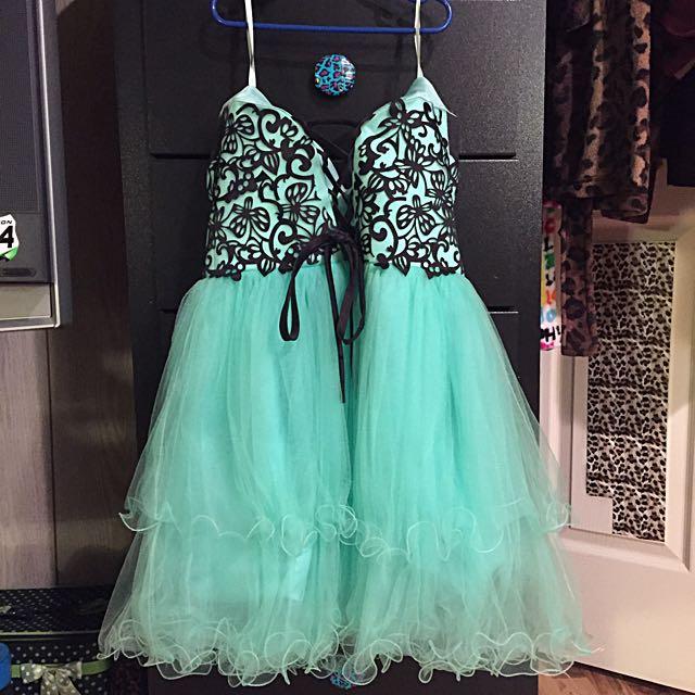 Turquoise Grad/Prom Dress
