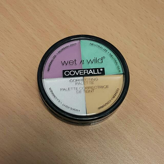 Wet N Wild Color Correcting Wheel