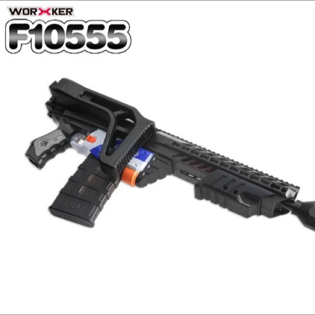 Worker F10555 Stealth Armor Upgrade Kit For Nerf Retaliator / Recon, Toys &  Games, Bricks & Figurines on Carousell