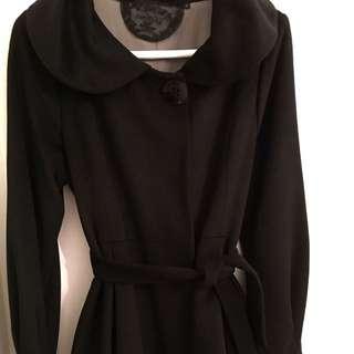 Size S Peplum Coat