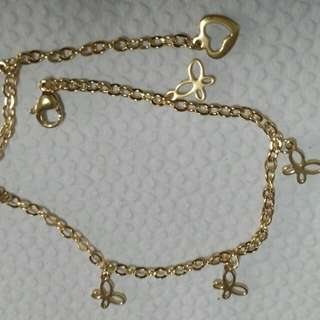 Anklet Gold Stainless