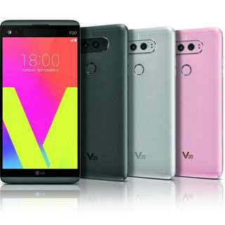 Mint Condition LG V20 w/ Glass Screen Protector On