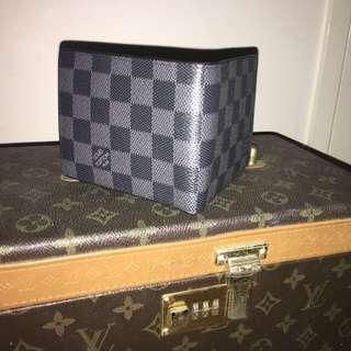Louis Vitton Black & Blue Wallet
