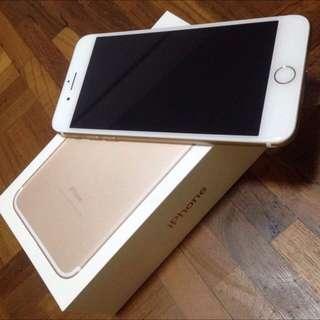 TRADE! Iphone 7plus Gold to Black Matt or Jet Black 128gb
