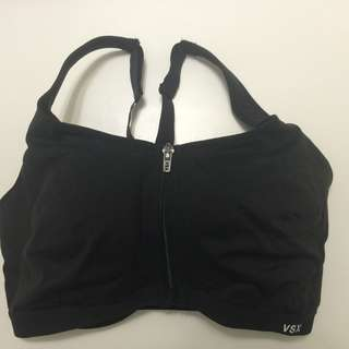 34DDD Victoria's Secret Black Knockout Sport Bra