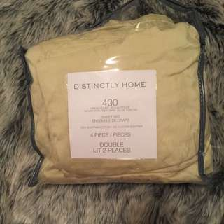 4 Piece Sheet Set 400 Thread Count Egyptian Cotton