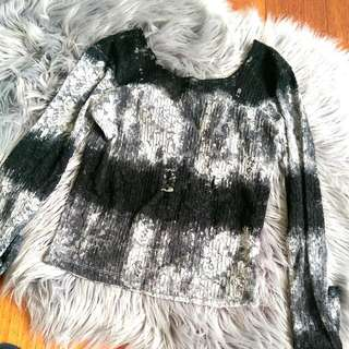 LEE long sleeve lace top