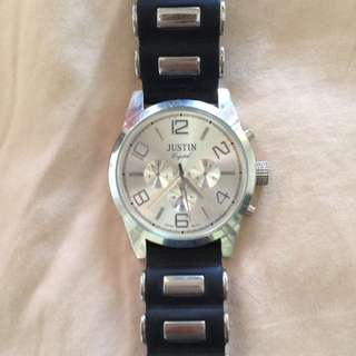 Justin Swiss Quartz Watch